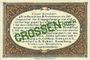 Billets Crossen. Inspektion der KGL im Bereich des XIII. Armeekorps. Billet. 1 pfennig 1.10.1917