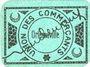 Billets Algérie. Orléansville. Union des Commerçants. Billet. 25 cmes, 2e émission