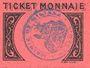 Billets Algérie. Ville de Miliana. Billet. 5 centimes 14.12.1916