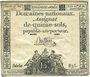 Billets Assignat. 15 sols. 23 mai 1793. Signature : Buttin