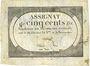 Billets Assignat. 500 livres. 20 pluviôse an 2. Signature : Le Court
