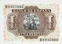 Billets Espagne, billet, 1 peseta 22.7.1953