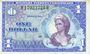 Billets Etats Unis. Armée américaine. Billet. 1 dollar (1968)
