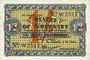 Billets Guernesey. Occupation allemande. Billet. 1 shilling 1.1.1942 / 1 shilling 3 pence