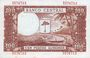 Billets Guinée Equatoriale. Billet. 1 000 bipkwele 21.10.1980 surchargé /100 pesetas guineanas 1969