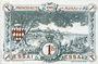 Billets Monaco. Billet. 1 franc 20.3.1920, Essai