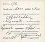 Billets Pays Bas. Gendt. Waalsteenindustrie. 1 gulden 28 cent. 5.9.1914