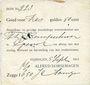 Billets Pays Bas. Nimègue (Nijmegen). Alfred Dorsemagen. 6 gulden 50 cent 5.9.1914