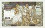 Billets Serbie. Banque Nationale. Billet. 1000 dinars / 500 dinars 1.5.1941