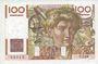 Billets Banque de France. Billet. 100 francs jeune paysan, 2.1.1953