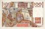 Billets Banque de France. Billet. 100 francs jeune paysan, 2.11.1951