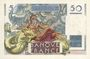 Billets Banque de France. Billet. 50 francs Le Verrier, 2.10.1947