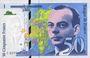 Billets Banque de France. Billet. 50 francs (Saint-Exupéry). 1999, modifié