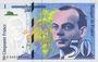 Billets Banque de France. Billet. 50 francs (Saint-Exupéry), 1999, modifié