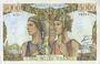 Billets Banque de France. Billet. 5000 francs, Terre et Mer, 10.3.1949