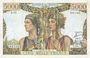 Billets Banque de France. Billet. 5000 francs, Terre et Mer, 5.4.1951