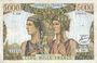 Billets Banque de France. Billet. 5000 francs, Terre et Mer, 6.12.1956