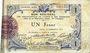 Billets Aisne et  Ardennes - Bon régional, Laon, billet, 1 franc 19.9.1915, 1ère série