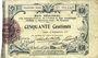 Billets Aisne et  Ardennes - Bon régional, Laon, billet, 50 cmes 19.9.1915, 3e série