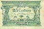Billets Angers (49). Ville. Billet. 50 cmes  novembre 1917, série C