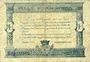 Billets Angers (49). Ville. Billet. 50 cmes  novembre 1917, série H