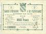 Billets Avesnes (59). Caisse d'Epargne et Prévoyance. Billet. 2 francs n. d., série 2