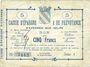Billets Avesnes (59). Caisse d'Epargne et Prévoyance. Billet. 5 francs, série 3