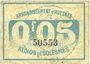 Billets Avesnes (59). Société des Bons d'Emission. Billet. 5 cmes n. d., série 1