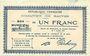 Billets Baives (59). Commune. Billet. 1 franc 7.7.1915