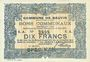 Billets Bauvin (59). Commune. Billet. 10 francs 11.3.1915, SPECIMEN