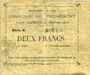 Billets Brunemont (59). Commune. Billet. 2 francs 1914, série B