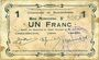 Billets Buironfosse (02). Commune. Billet. 1 franc 25.8.1915