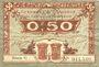 Billets Caen et Honfleur (14). Chambres de Commerce. Billet. 50 centimes, série C