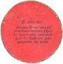 Billets Cahors (46). Ville. Guerre 1914. Billet. 10 cmes 26.12.1916