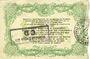 Billets Cambrai (59). Syndicat de Communes de la Région de Cambrai. Billet. 10 francs 10.5.1916, série E