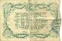 Billets Cambrai (59). Syndicat de Communes de la Région de Cambrai. Billet. 10 francs 10.5.1916, série I