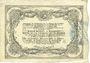 Billets Cambrai (59). Syndicat de Communes de la Région de Cambrai. Billet. 50 francs 10.5.1916, série B