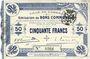Billets Cambrai (59). Ville. Billet. 50 francs 30.10.1914