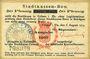 Billets Colmar (68). Stadtkassen - Bon. Billet. 50 pf 6.8.1914 surchargé Ausgabe 1917
