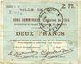 Billets Douai (59). Ville. Billet. 2 francs 30.8.1914, série C6