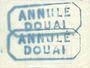 Billets Douai (59). Ville. Billet. 50 cmes 30.8.1914, série A2, Essai (Muster)