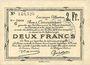 Billets Douai et Région de Carvin (59). Billet. 2 francs 22.5.1916, 5e série C