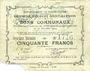Billets Ecourt Saint-Quentin (62). Commune. Billet. 20 francs 20.12.1914, 2e émission