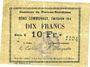 Billets Flers-en-Escrébieux (59). Commune. Billet. 10 francs, émission 1914, série K