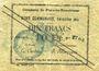 Billets Flers-en-Escrébieux (59). Commune. Billet. 10 francs, émission 1914, série L, annulation manuscrite