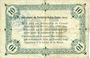 Billets Fontaine-Notre-Dame (59). Commune. Billet. 10 francs 16.12.1915, série A