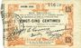 Billets Fourmies (59). Bon Régional des Départ. du Nord, Aisne & Oise. Billet. 25 cmes 24.10.1915, 6e série