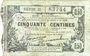Billets Fourmies (59). Bon Régional Nord, Aisne et Oise. Billet. 50 cmes 8.5.1916, série 21