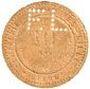Billets Givors (69). Compagnie de Fives-Lille. Billet. 10 cmes
