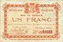 Billets Glageon (59). Commune. Billet. 1 franc 26.11.1914, 1ère série